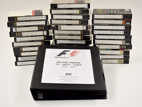 Convert VHS to DVD Archive