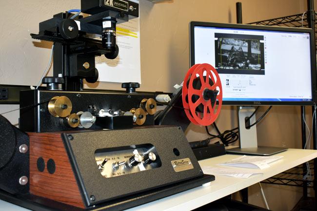 Film Reel Transfer to mp4 File